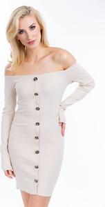 Sukienka Zoio w stylu casual z długim rękawem