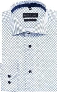 Koszula giacomo conti z tkaniny z długim rękawem