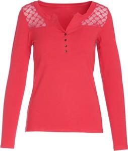Czerwona bluzka Multu w stylu casual