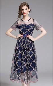 Sukienka Tina z krótkim rękawem