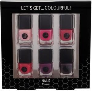 2K Let´s Get Colourful! Classics Lakier do paznokci W 5 ml Lakier do paznokci 6 x 5 ml