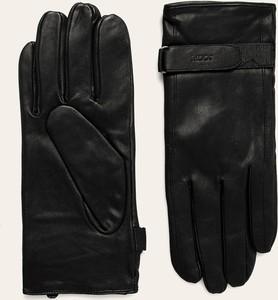 Czarne rękawiczki Joop!