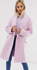Niebieski płaszcz Asos