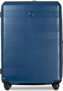 Niebieska walizka Echolac
