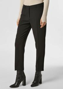 Czarne spodnie S.Oliver Black Label w stylu klasycznym