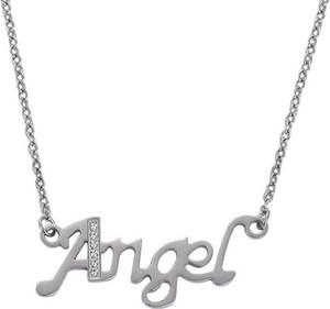 Magboss Naszyjnik, angel, srebrny