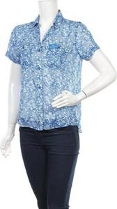 Niebieska koszula Superdry w stylu casual