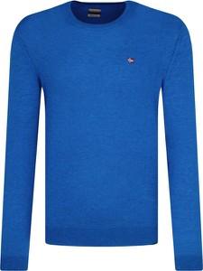 Sweter Napapijri w stylu casual z wełny