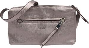 Złota torebka Esprit ze skóry średnia matowa