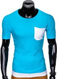 T-shirt Ombre Clothing z krótkim rękawem w stylu casual
