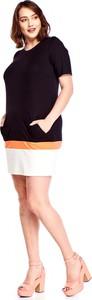 Sukienka Amadeo mini z krótkim rękawem ołówkowa