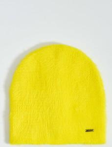 Żółta czapka Mohito