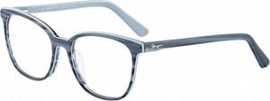 Niebieskie okulary damskie Morgan