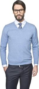 Błękitny sweter recman