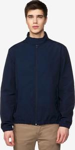 Niebieska kurtka United Colors Of Benetton krótka