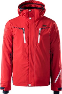 Czerwona kurtka Ast w sportowym stylu