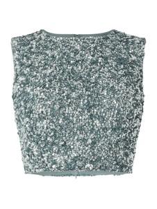 Bluzka Lace & Beads z okrągłym dekoltem