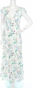 Sukienka Oml London z krótkim rękawem maxi