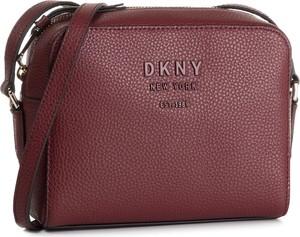 Czerwona torebka DKNY średnia
