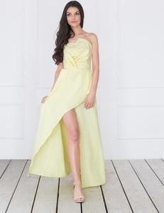 Sukienka Waisted bez rękawów z tkaniny