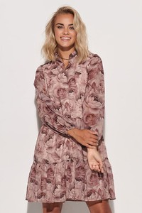 Różowa sukienka Makadamia mini