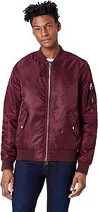 Fioletowa kurtka Find w stylu casual z nadrukiem