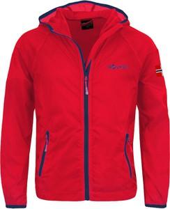 Czerwona kurtka dziecięca Trollkids dla chłopców
