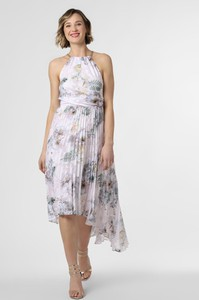 Sukienka Ted Baker bez rękawów midi z dekoltem halter