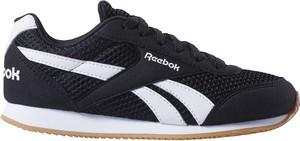 Czarne buty sportowe dziecięce Reebok Fitness sznurowane