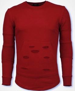 Sweter Justing z wełny w stylu casual