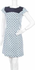 Niebieska sukienka Almatrichi mini w stylu casual