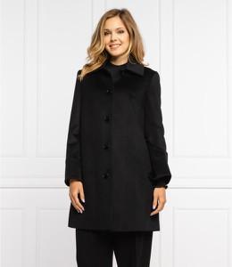 Czarny płaszcz Max & Co. z wełny
