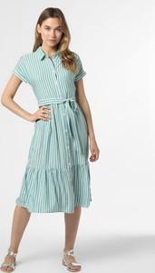 Zielona sukienka Vila z krótkim rękawem