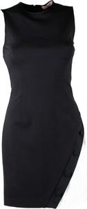 Czarna sukienka Twinset bez rękawów mini