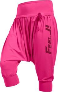 Różowe spodnie sportowe fj!