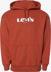 Pomarańczowa bluza Levis w młodzieżowym stylu