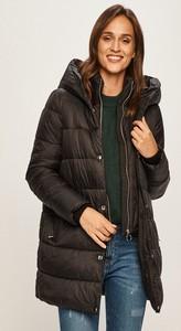 Czarna kurtka Vero Moda długa w stylu casual