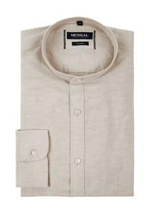 Koszula McNeal ze stójką z bawełny z długim rękawem