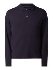 Koszulka polo Montego z długim rękawem z bawełny