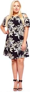 Sukienka Fokus z okrągłym dekoltem