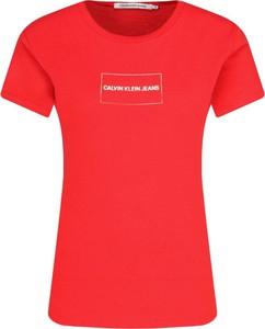 T-shirt Calvin Klein w stylu casual
