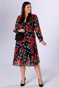 Sukienka Ptakmoda.com z tiulu