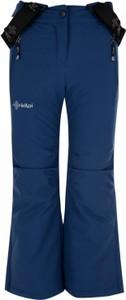Granatowe spodnie dziecięce Kilpi