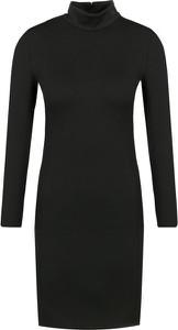 Sukienka Calvin Klein dopasowana mini z golfem