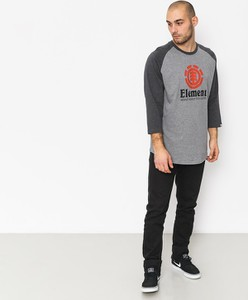 T-shirt Element w młodzieżowym stylu z długim rękawem