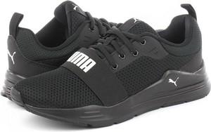 Buty sportowe Puma w sportowym stylu sznurowane z płaską podeszwą