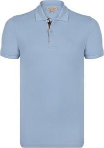 91e8ad95b Niebieska koszulka polo Burberry z krótkim rękawem