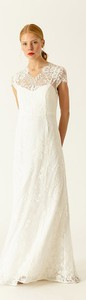 Sukienka Ivy & Oak maxi z dekoltem w kształcie litery v z krótkim rękawem