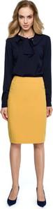 Żółta spódnica MOE