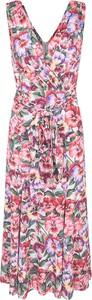 Sukienka Dolce & Gabbana bez rękawów maxi w stylu boho